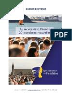 Dossier de presse - Nouvelles paroisses