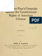 (1928) The Italian Pope's Campaign Against the Constitutional Rights of American Citizens