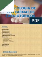 Toxicologia  de los fármacos cardiotónicos