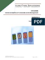 BSBRSK501A Manage Risk FCS