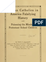 (1928) Roman Catholics in America Falsifying History & Poisoning the Minds of Protestant School Children