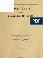 (1922) A Short History of the Papacy & the Popes
