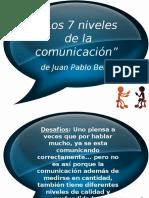 7 Niveles de Comunicación