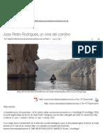Joao Pedro Rodrigues, un cine del cambio