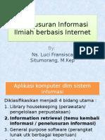 Penelusuran Ilmiah Berbasis Internet