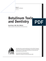 Botulinum Toxin and Dentistry
