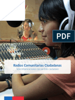 Manual Manual para Radios Comunitarias - Chile
