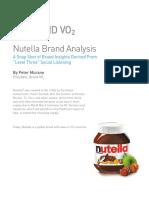 Nutella Brand VO2 Case Study[1]