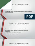 Sistema de Analisis Dupont