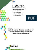 Kelompok 7 (Powerpoint)-Terpenoid, Steroid, Dan Minyak Atsiri