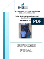 Informe Final  Encuesta de Bienestar del Adulto Mayor