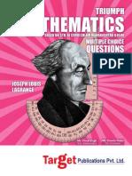 11th Science Mht Cet Triumph Mathematics Mcqs