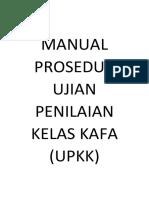 Manual Prosedur Upkk