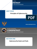 unit four - principles of cybersecurity