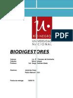 Biodigestor Informe Final