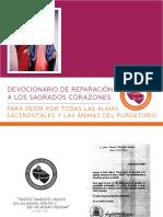 Devocionario de Reparacion y Desagravio a Los Sagrados Corazones Con Imprimatur