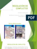 Presentación Curso Resolución de Conflictos