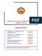 Admission Brochure IITM
