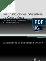 La Institucion Educativa y El Contrato Historico