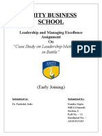 Leadership and Managing Excellence Assignment.docx