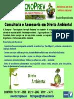 DIREITO AMBIENTAL TECNOPREV