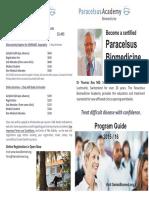 PBA Brochure