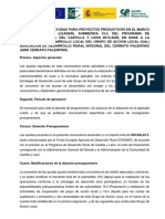 Convocatoria Proyectos Productivos Adri Cerrato Palentino