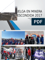 Huelga en Minera Escondida 2017