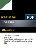 SQL Lecture