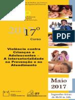 Violencia Contra Crianccas e Adolescentes a Intersetorialidade Na Prevencao e No Atendimento