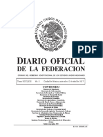 DIARIO OFICIAL DE LA FEDERACIÓN MEXICANA DEL 12042017-MAT