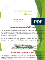 Máquina SíncronaTrifásica. Mark Alonso Tamani Pizango.senaTI