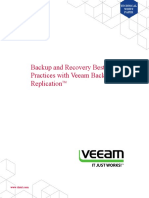 Backup and Recovery Best Practices With Veeam Backup and Replication