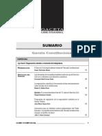 SUMARIO Gaceta Constitucional - Junio 102