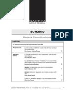 SUMARIO Gaceta Constitucional - Diciembre 108