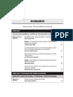 SUMARIO Gaceta Constitucional - Febrero98