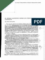 Barrenechea - Lo fantastico entre los códigos y los contextos (1991)