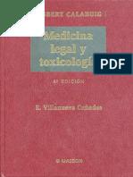 LIBRO GUIA MEDICINA LEGAL Y TOXICOLOGIA - Gisbert Calabuig, J. A. & Villanueva Cañadas, E.pdf