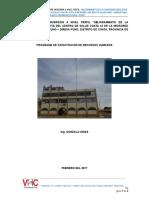Informe Del Programa de Capacitacion