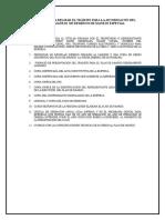 Requisitos Para Presentacion Del Plan de Manejo