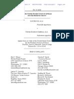 Brief of Appellants, Segovia v. United States