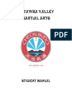 Cheonjikido Student Manual