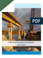 12 - Erland Norviken Bridge Construction With Precast Concrete Elements