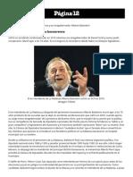 Murió El Ex Intendente de La Matanza y Ex Vicegobernador Alberto Balestrini _ Página12