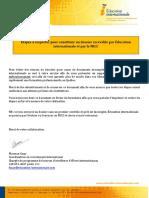 Check List 2014 Dossier Complet EVAL COMP