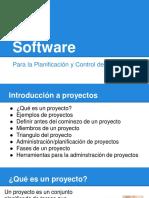 Software Para La Planificación y Control de Proyectos - Parte 1