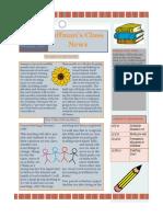 school news letter