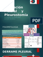 Ocupación y Pleurostomía