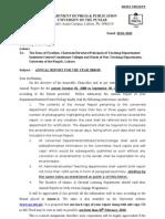 Annual Report Proforma 2008-09