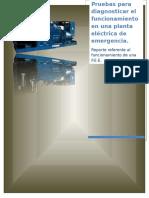 Pruebas Para Diagnosticar El Funcionamiento De Una Planta Eléctrica De Emergencia.docx